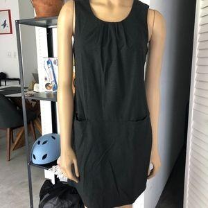 GAP WOOL-BLEND MINI SHIFT DRESS